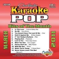 KARAOKE: POP HITS OF THE MONTH MARCH 2011 / VAR CD