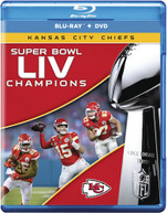 SUPER BOWL LIV CHAMPIONS: KANSAS CITY CHIEFS BLURAY