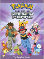 POKEMON THE SERIES: DIAMOND & PEARL THE COMP SSN DVD