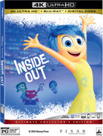 INSIDE OUT 4K BLURAY