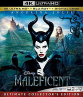 MALEFICENT 4K BLURAY