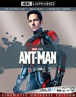 ANT -MAN 4K BLURAY