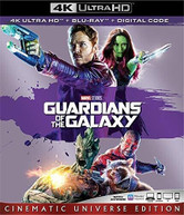 GUARDIANS OF THE GALAXY 4K BLURAY