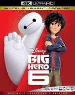 BIG HERO 6 4K BLURAY