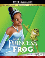 PRINCESS & THE FROG 4K BLURAY