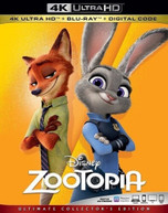 ZOOTOPIA 4K BLURAY