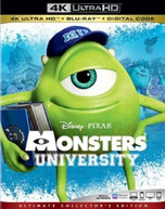 MONSTERS UNIVERSITY 4K BLURAY