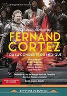 SPONTINI /  TINGAUD - FERNAND CORTEZ DVD