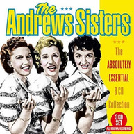 ANDREWS SISTERS - ABSOLUTELY ESSENTIAL 3 CD COLLECTION CD