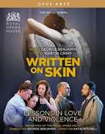 BENJAMIN /  ROYAL OPERA CHORUS - WRITTEN ON SKIN BLURAY