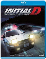 INITIAL D LEGEND: THEATRICAL COLLECTION BLURAY