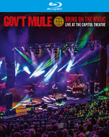 GOV'T MULE - BRING ON THE MUSIC - LIVE AT THE CAPITOL THEATRE BLURAY