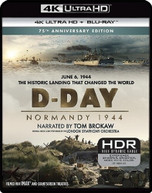 D -DAY: NORMANDY 1944 (75TH) (ANNIVERSARY) (EDITION) 4K BLURAY