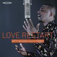 BITTY / SLY MCLEAN &  ROBBIE - LOVE RESTART CD