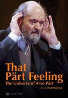 THAT PART FEELING - UNIVERSE OF ARVO PART DVD