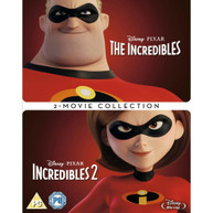 THE INCREDIBLES / THE INCREDIBLES 2 BLU-RAY [UK] BLURAY