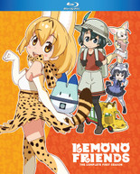 KEMONO FRIENDS: COMPLETE FIRST SEASON BLURAY