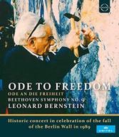 LEONARD BERNSTEIN - LEONARD BERNSTEIN: ODE TO FREEDOM BLURAY