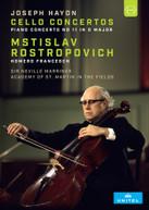MSTISLAV ROSTROPOVICH - ROSTROPOVICH PLAYS HAYDN CELLO CONCERTOS DVD