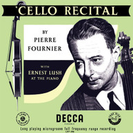 PIERRE FOURNIER - CELLO RECITAL VINYL
