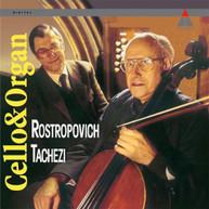 MSTISLAV ROSTROPOVICH &  HERBER TACHEZI - CELLO & ORGAN VINYL