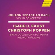 J.S. BACH /  FAUST / STUTTGART - VIOLIN CONCERTOS CD