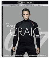 DANIEL CRAIG COLLECTION 4K BLURAY