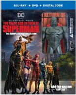 DEATH & RETURN OF SUPERMAN: COMP FILM COLL GIFTSET BLURAY