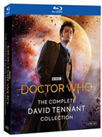 DOCTOR WHO: COMPLETE DAVID TENNANT BLURAY