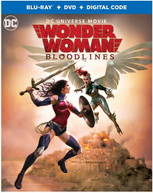 WONDER WOMAN: BLOODLINES BLURAY