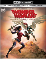 WONDER WOMAN: BLOODLINES 4K BLURAY
