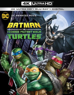 BATMAN VS TEENAGE MUTANT NINJA TURTLES 4K BLURAY