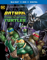 BATMAN VS TEENAGE MUTANT NINJA TURTLES BLURAY