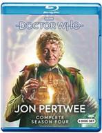 DOCTOR WHO: JON PERTWEE COMPLETE SEASON FOUR BLURAY