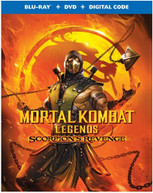 MORTAL KOMBAT LEGENDS: SCORPION'S REVENGE BLURAY