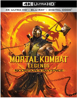 MORTAL KOMBAT LEGENDS: SCORPION'S REVENGE 4K BLURAY