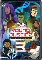 YOUNG JUSTICE OUTSIDERS: COMPLETE THIRD SEASON DVD
