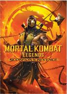 MORTAL KOMBAT LEGENDS: SCORPION'S REVENGE DVD