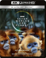 SEVEN WORLDS - ONE PLANET 4K BLURAY
