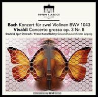 J.S. BACH /  FRANCK / OISTRACH / KONWITSCHNY - BACH & VIVALDI: VIOLIN VINYL