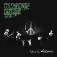 CCR ( CREEDENCE) (CLEARWATER) (REVIVAL - LIVE AT WOODSTOCK - CD
