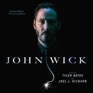 TYLER BATES / JOEL J  RICHARD - JOHN WICK / SOUNDTRACK VINYL