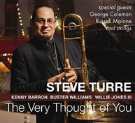 STEVE TURRE - VERY THOUGHT OF YOU VINYL