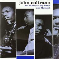 JOHN COLTRANE - ART BLAKEY'S BIG BAND & QUINTET VINYL