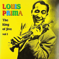 LOUIS PRIMA - KING OF JIVE VOL 1 VINYL
