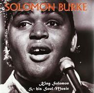 SOLOMON BURKE - KING SOLOMON & HIS SOUL MUSIC VINYL