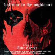 WELCOME TO THE NIGHTMARE - TRIBUTE TO ALICE COOPER CD