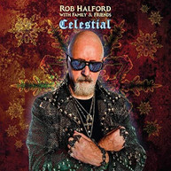 ROB WITH FAMILY HALFORD &  FRIENDS - CELESTIAL CD