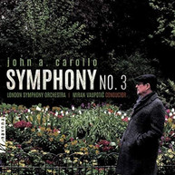 CAROLLO /  LONDON SYMPHONY ORCHESTRA / VAUPOTIC - SYMPHONY 3 BLURAY