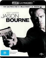 JASON BOURNE 4K BLURAY